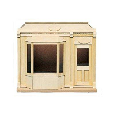 dollhouse miniature street of shops-bay window shop by ho...