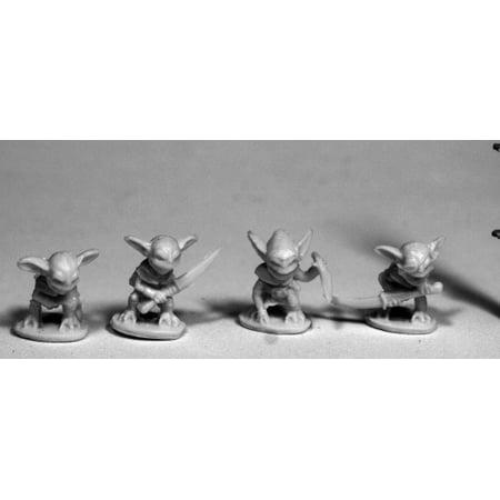 Reaper Miniatures Gremlins (4)#77497 Bones RPG D&D Mini - Miniature Sharks