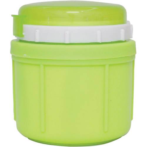 Greek Jar - Range Kleen GO GO Foam Insulated Food Jar, 10 oz, Leafy Green