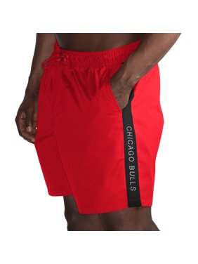 09188baff4 Product Image Chicago Bulls G-III Sports by Carl Banks Volley Swim Trunks -  Red/Black