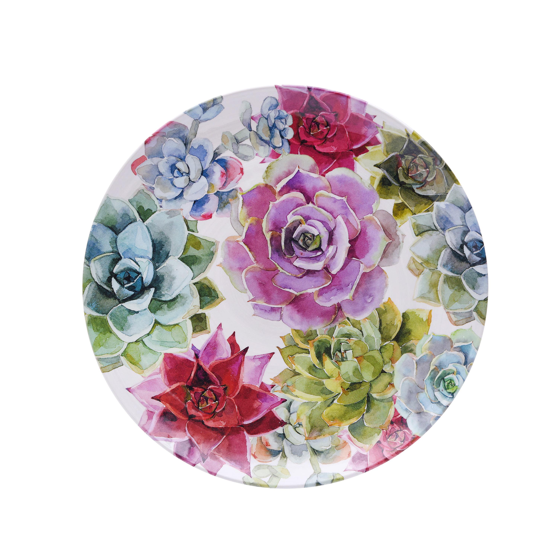 Better Homes & Gardens Succulent Dinner Plate