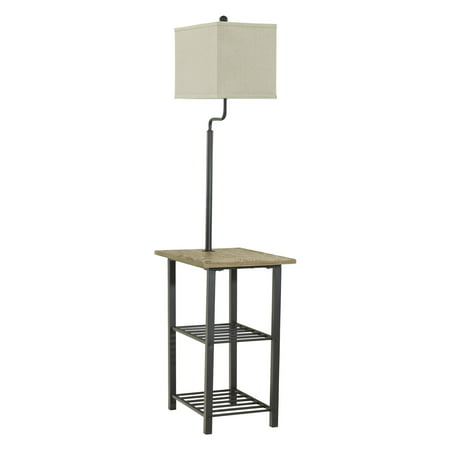 - Signature Design by Ashley L734031 Shianne Floor Lamp with Tray
