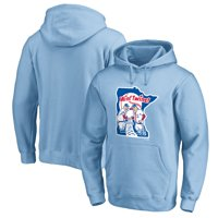 Minnesota Twins Fanatics Branded Cooperstown Collection Huntington Pullover Hoodie - Light Blue
