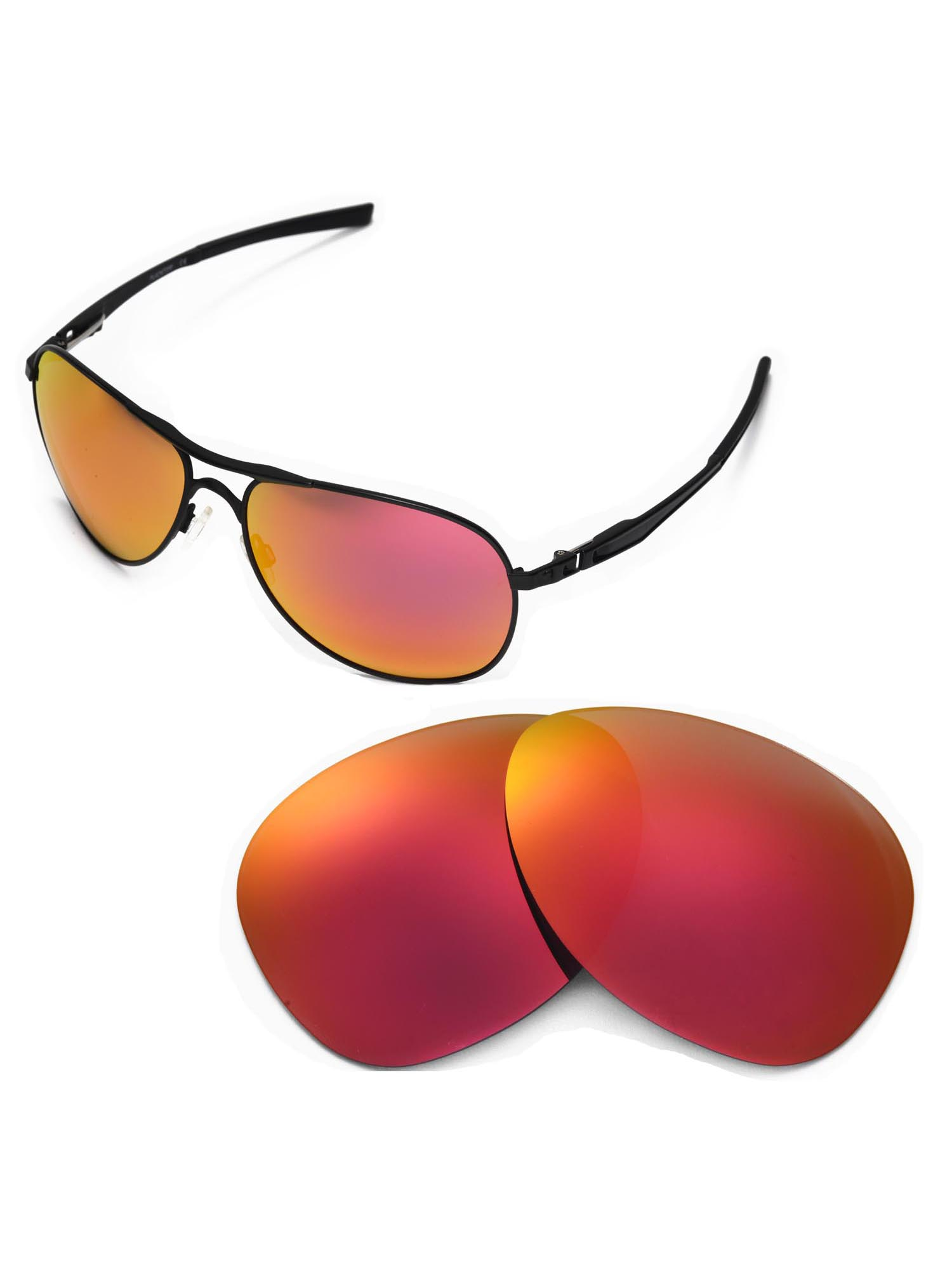 b783958ea9 Walleva Fire Red Polarized Replacement Lenses for Oakley Plaintiff ...