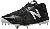 L4040v4 Metal Baseball Shoe, Black