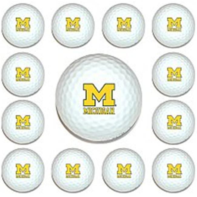 Team Golf 22203 Michigan Wolverines Dozen Ball Pack