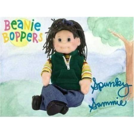 "14"" Ty Spunky Sammie Plush Rag Bean Bag Doll"