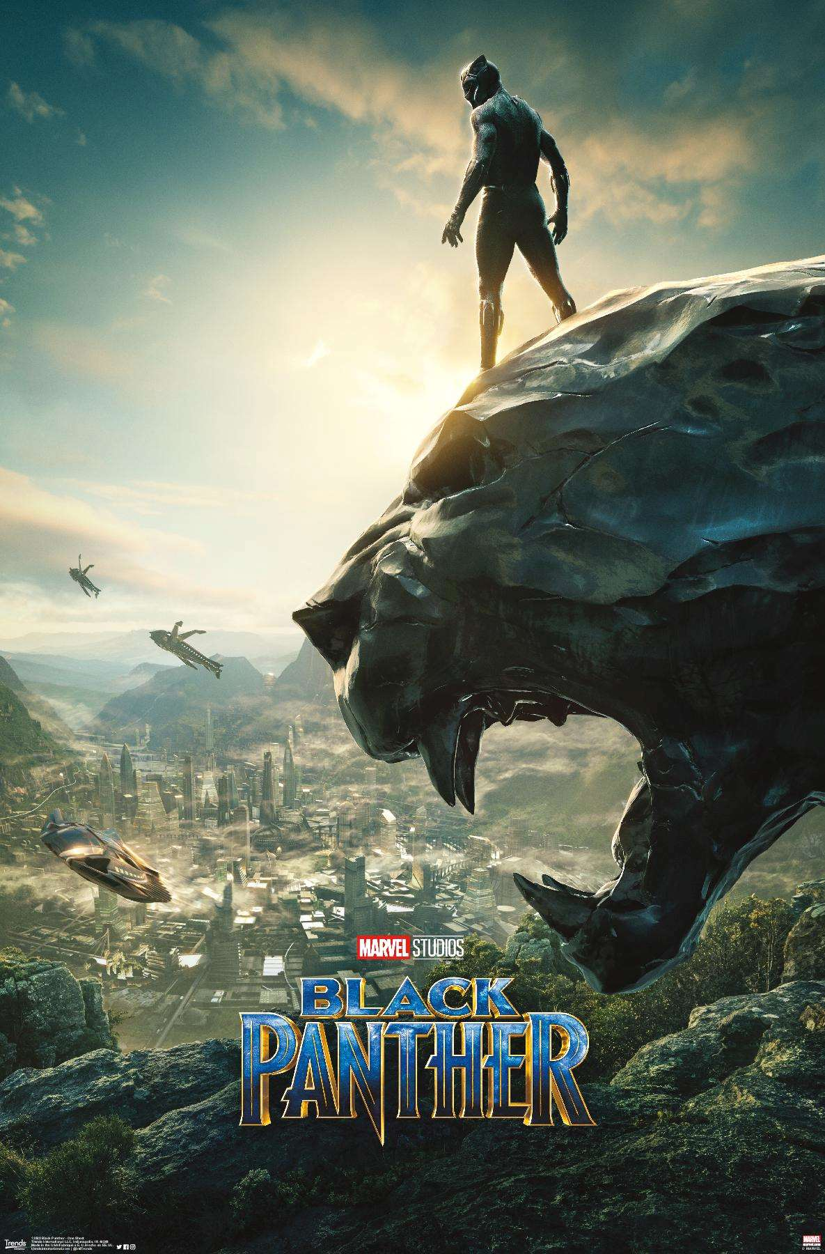 NEW LISTING Black Panther Movie Cast 2018 Marvel Canvas Poster 8x16 24x43 inch