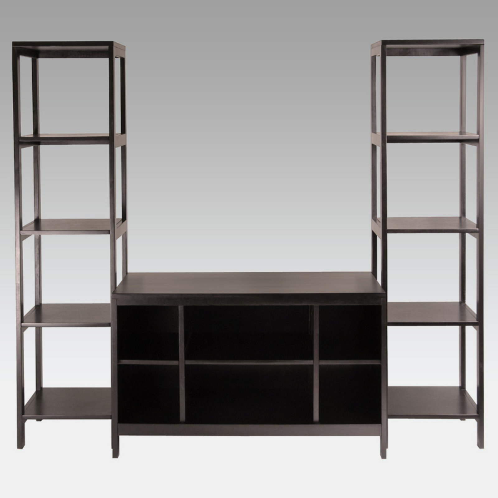 Hailey 3pc TV Stand Shelf Set