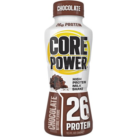 Core Poweru00ae Chocolate High Protein Milk Shake 11.5 fl. oz. Bottle