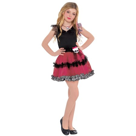 Halloween For Girl (Monster High Halloween Tutu Dress Costume for Girls, One Size, by)