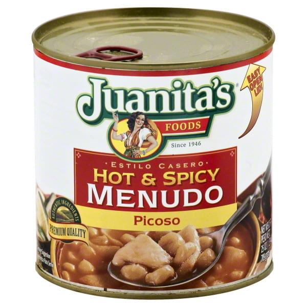 Juanita's Foods Picoso Hot & Spicy Menudo, 29.5 oz