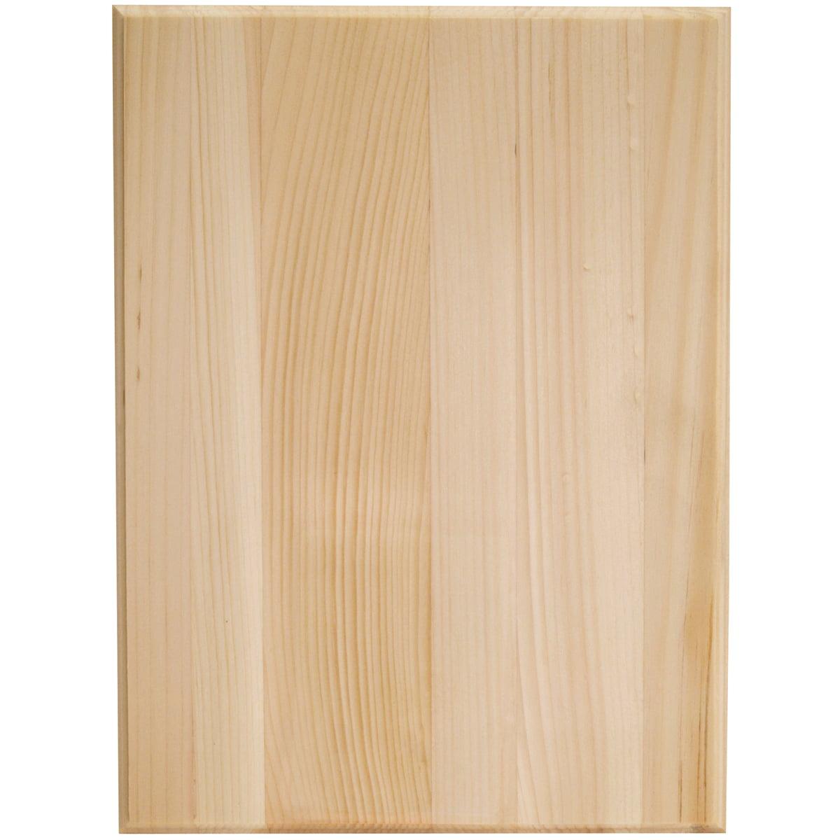 Walnut Hollow Rectangle Pine Plaque 9 x 12