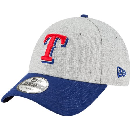 designer fashion 2655b 45b05 Texas Rangers New Era 9FORTY The League Adjustable Hat - Heathered  Gray Royal - OSFA - Walmart.com