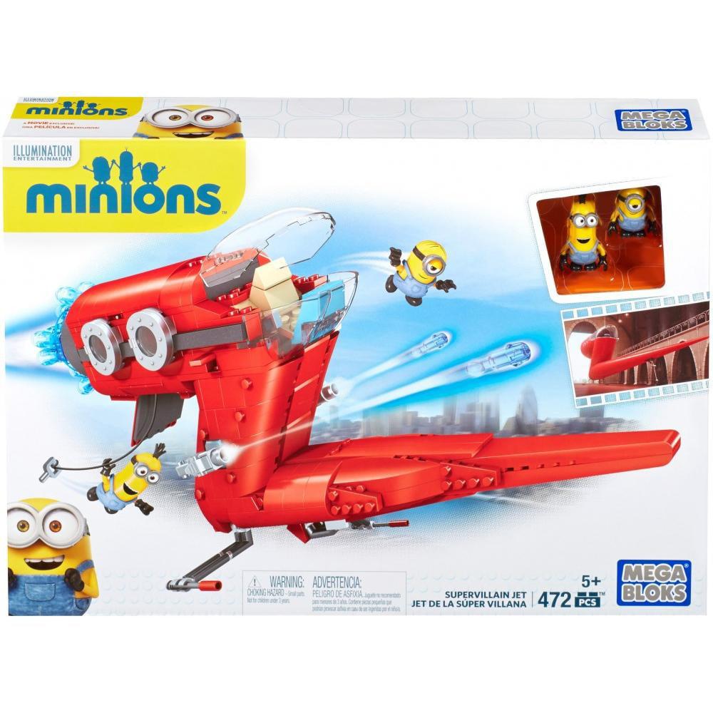 Mega Bloks Minions Supervillain Jet by Mattel