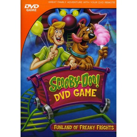 SCOOBY-DOO INTERACTIVE DVD GAME - FUNLAND OF FREAKY