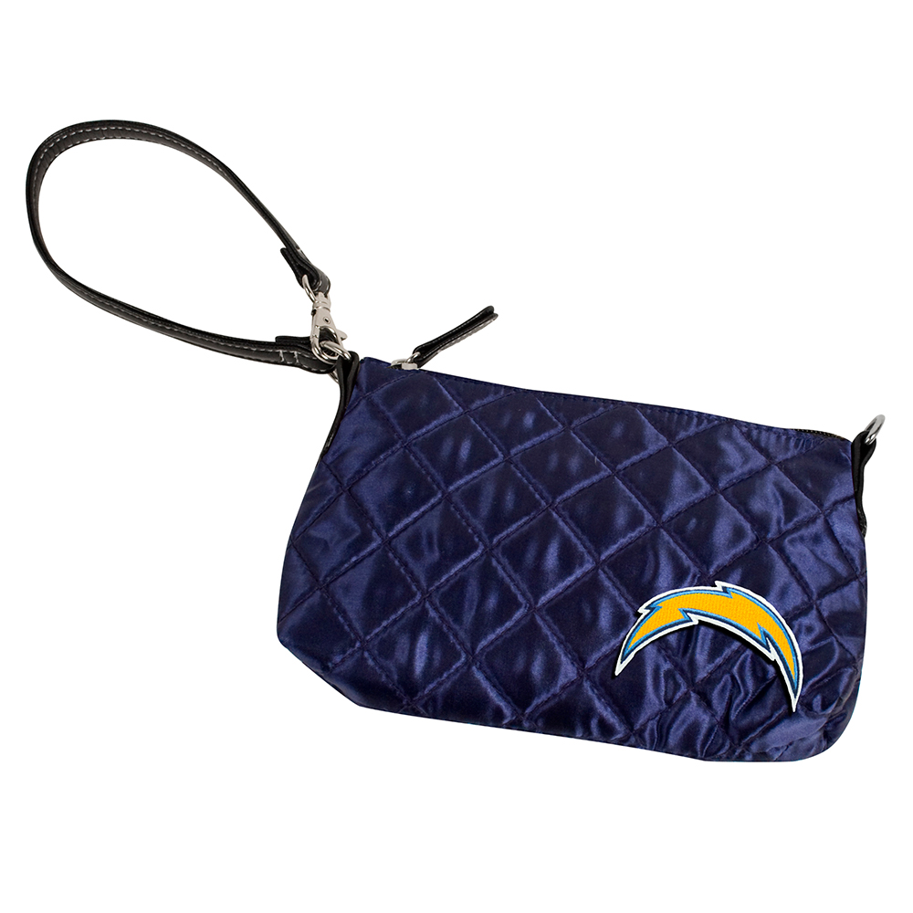 San Diego Chargers NFL Quilted Wristlet (Navy)