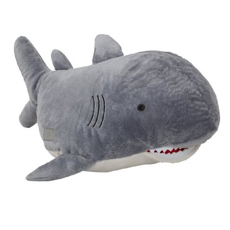 Pillow Pets Discovery Channel Shark Plush Stuffed Animal Pillow Pet](Shrek Pillow Pet)