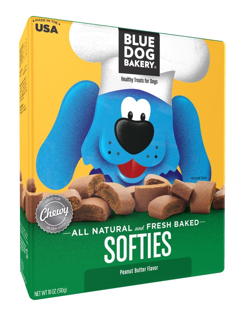 Blue Dog Bakery Softies Peanut Butter Dog Treats, 18 Oz by Blue Dog Bakery