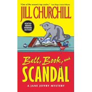 Jane Jeffry Mystery: Bell, Book, and Scandal (Paperback)