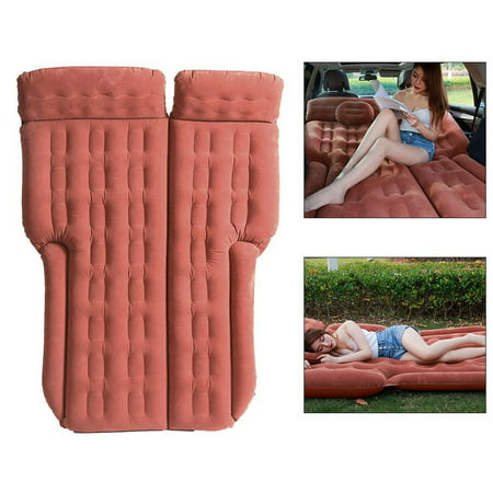 FAGINEY 185*110cm SUV Inflatable Mattress Travel Camping Car Air Bed Back Seat, Travel Inflatable Mattress, Air Mattress