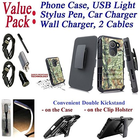 Mobile Phone Holster - Value Pack Cables Chargers + for 5.5