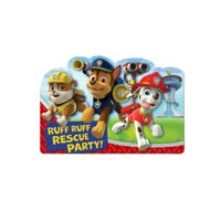 Nickelodeon Paw Patrol Birthday Party Invitations 16 Count with Save The Date
