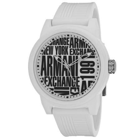 Armani Exchange Men's Classic AX1442 Watch (Armani Exchange Black Steel Watch)