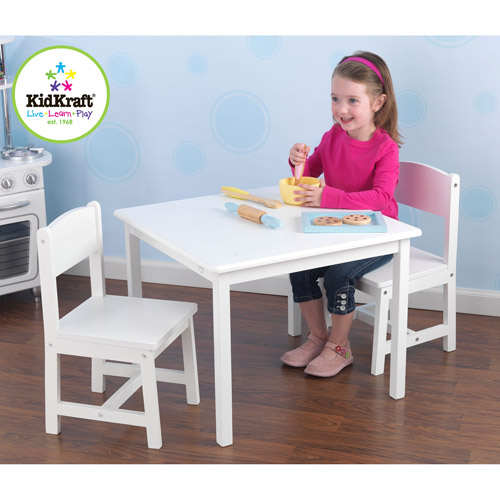 KidKraft - Aspen Table and Chair Set, White