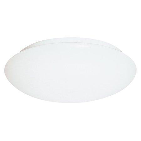 """Sea Gull Lighting 5902EN3 Holly 2 Light 12"""" Wide LED Flush Mount Bowl Ceiling Fixture"""