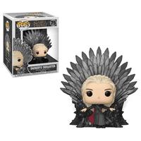 Funko POP! Deluxe: GOT S10 - Daenerys Sitting on Throne
