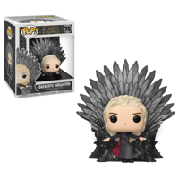 Funko POP! Deluxe: GOT S10 - Daenerys Sitting on Throne