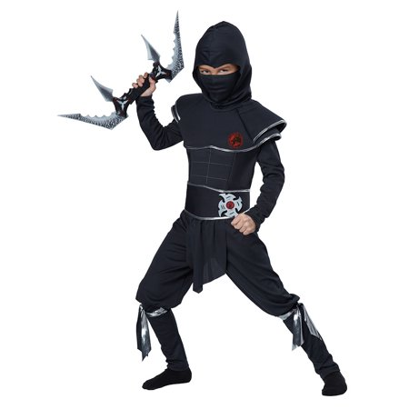 Boys Ninja Warrior Costume Size Large (The Warrior's Way Costume)