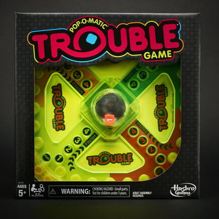 Trouble Neon Pop Board Game for Kids Ages 5 and Up