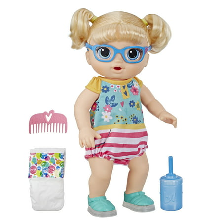 Baby Alive Step'n Giggle Baby (Blonde Hair) for Kids Ages 3 and Up