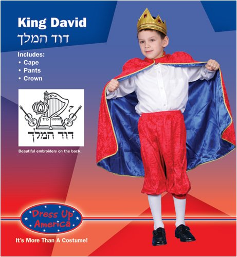 Dress Up America Deluxe King David Children's Costume Set
