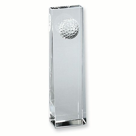 Optic Glass Golf Ball Trophy Inspirational Award Gifts For Women For Her Golf Trophies And Awards