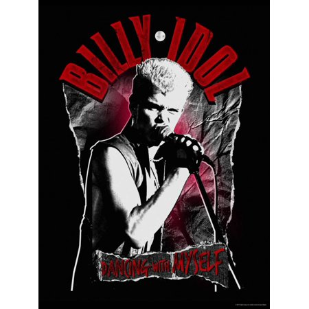 Dancing Art Poster - Billy Idol - Dancing With Myself Poster Wall Art
