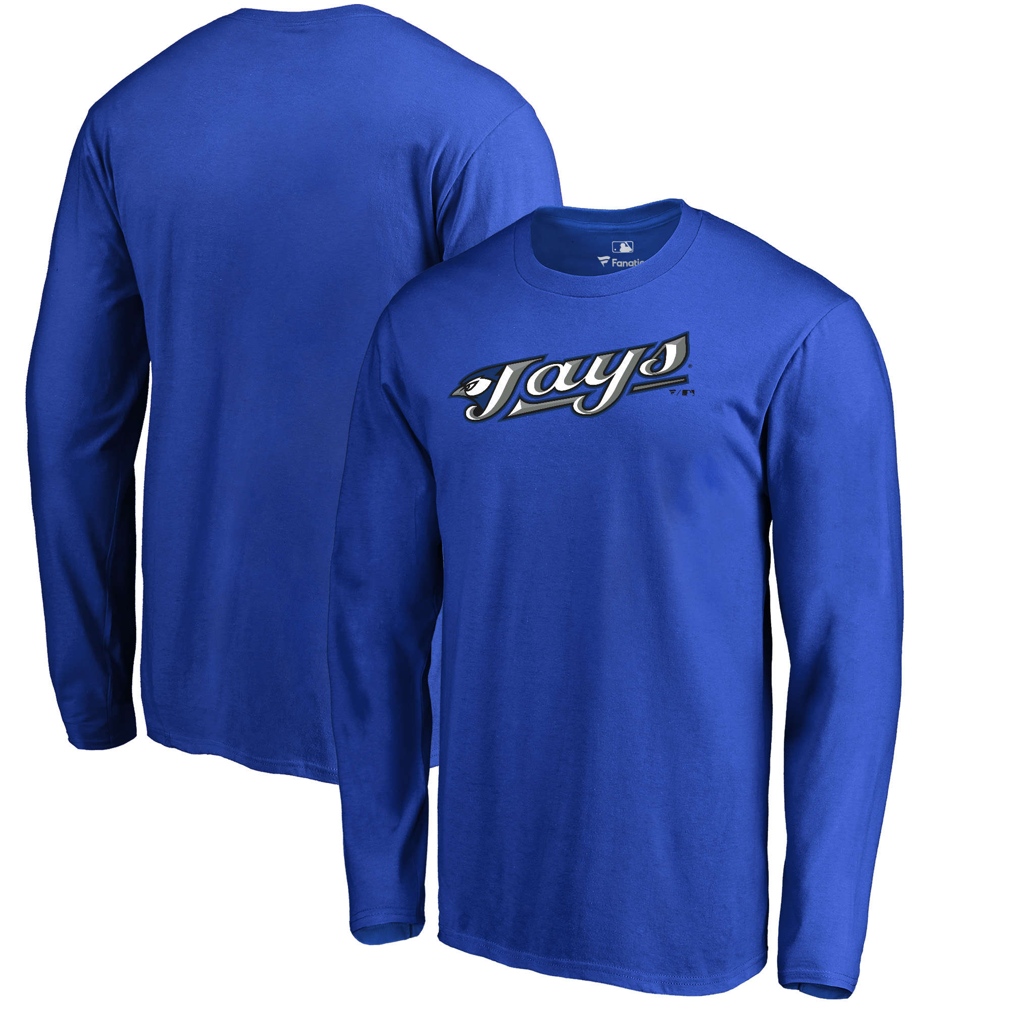 Toronto Blue Jays Fanatics Branded Cooperstown Collection Wahconah Long Sleeve T-Shirt - Royal