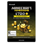 Minecraft Minecoin Pack 1720 Coins, Microsoft, [Digital Download]
