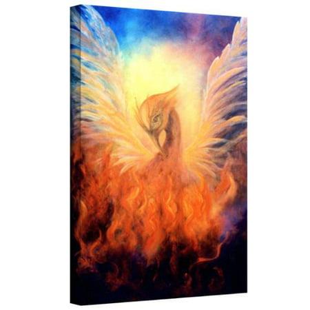 Artwall Marina Petro Phoenix Rising Gallery Wrapped Canvas