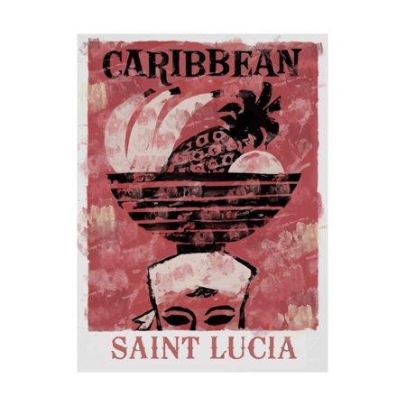 Saint Lucia Print Wall Art](Saint Lucia Day)