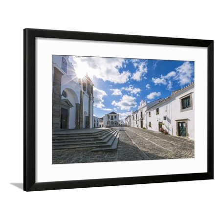 The Centre of the Medieval Town of Monsaraz, Alentejo, Portugal, Europe Framed Print Wall Art By Alex Robinson - Compton Town Center