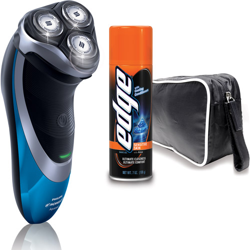 Philips Norelco AT810/41 PowerTouch +  Bonus Shave Gel and Travel Case