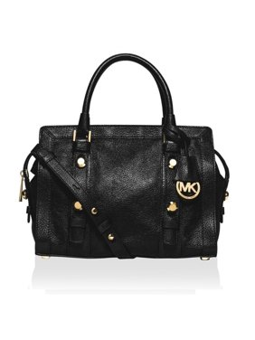 bb6e0b86eed7 Product Image MICHAEL Michael Kors Collins Stud Medium Leather Satchel -  30F5GCVS2L-001