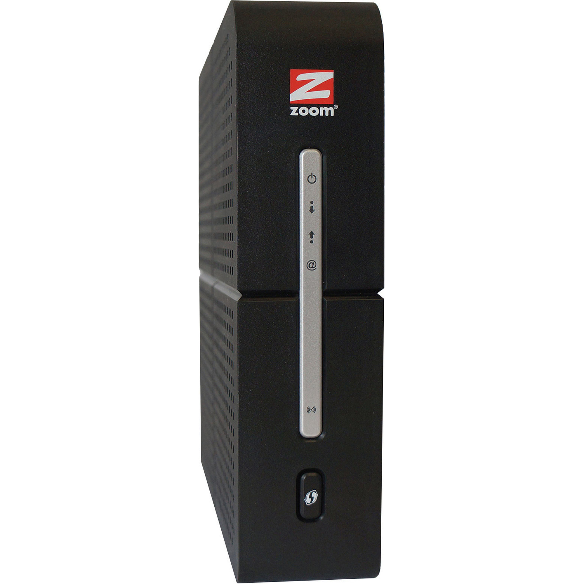 Zoom Cable Modem/Router with High-Performance Wireless 802.11ac
