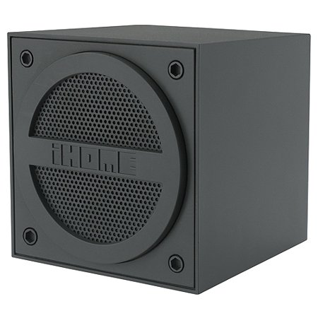 iHome Speaker System – Wireless Speaker(s) – Gray IBT16GC
