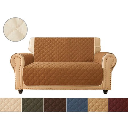 Ameritex Sofa Cover Reversible Quilted Furniture
