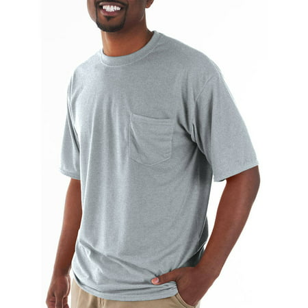 - Big and Tall Men's Classic Short Sleeve T-Shirt with Pocket