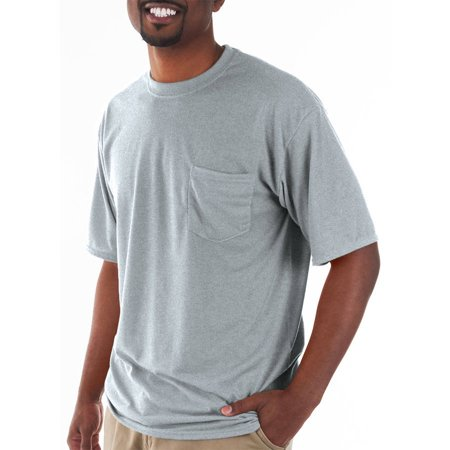 Gildan Big and tall men's classic short sleeve t-shirt with -